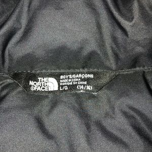 Boys North Face coat